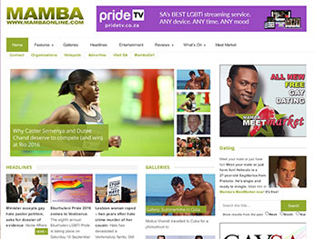 MambaOnline South Africa Top LGBT News Site