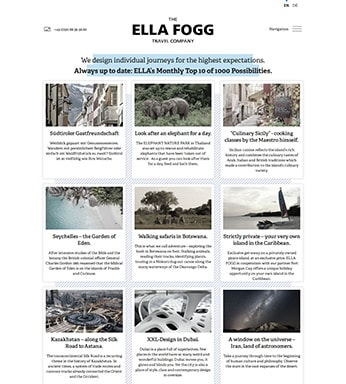 The ELLA FOGG Travel Company